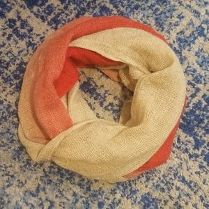 FREE with bundle, Infinity Scarf Orange and Tan